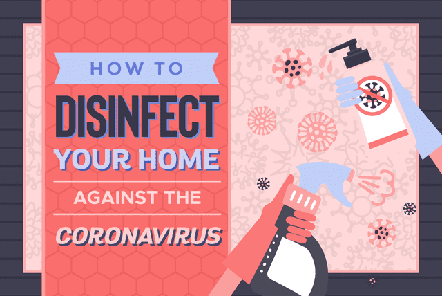 Disinfect Your Home Against Coronavirus