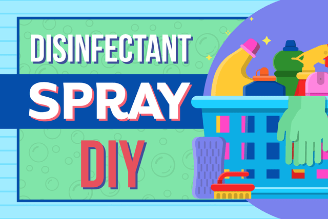 disinfectant spray diy