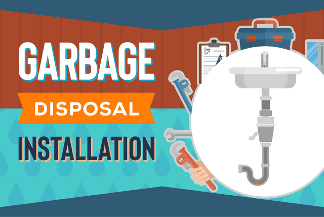 garbage disposal installation