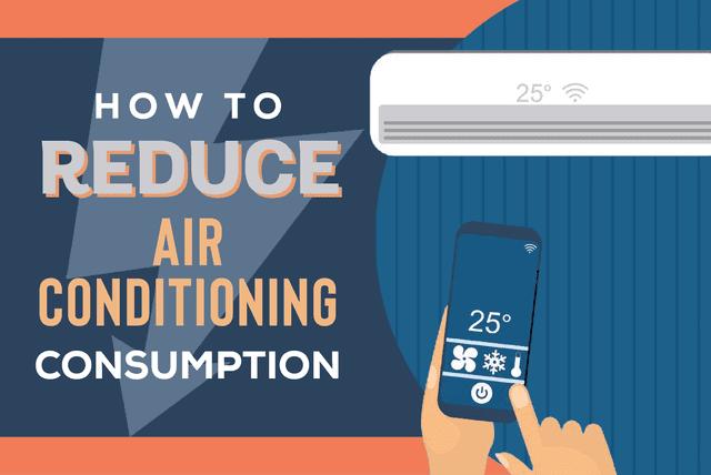 reduce Air conditioning consumption