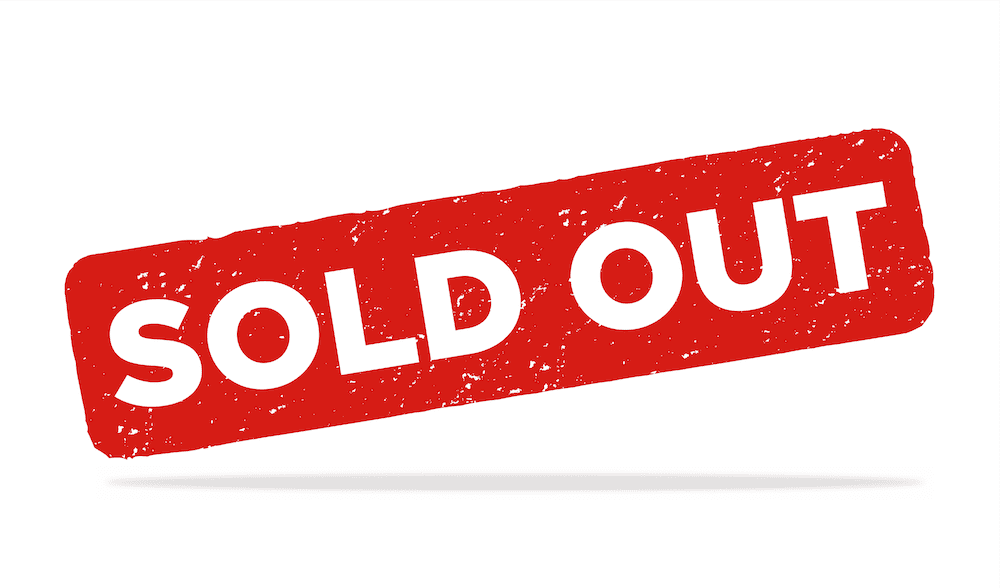 HALO-LED sold out