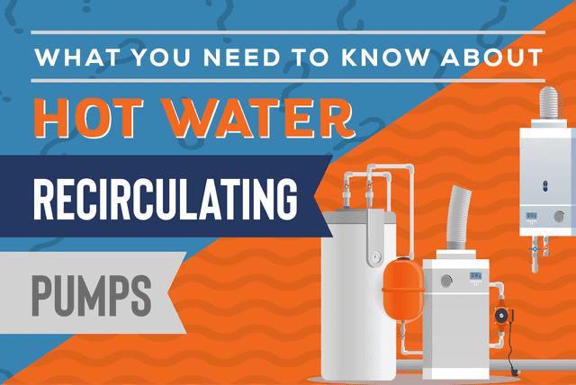 Hot Water Recirculating Pump