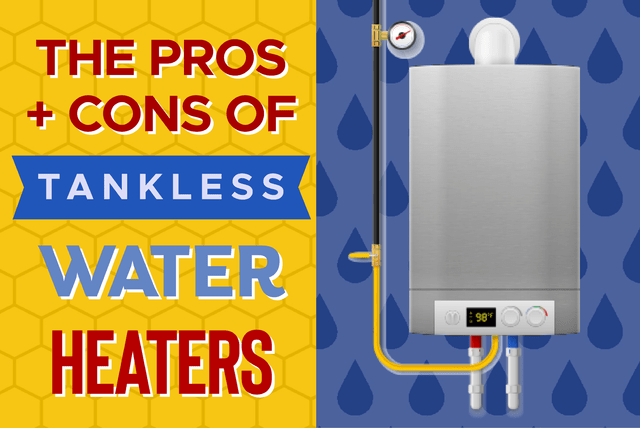 The Pros And Cons Of Tankless Water Heaters Ecm Service