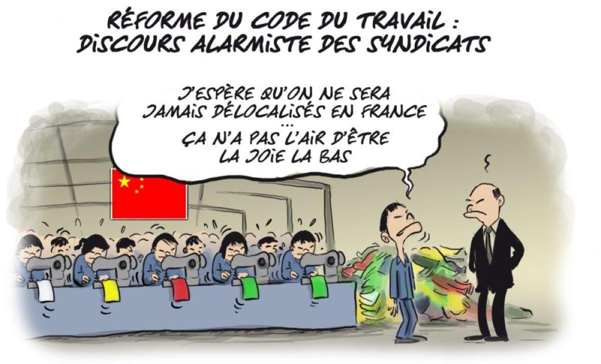 La réforme du Code du travail selon Faro