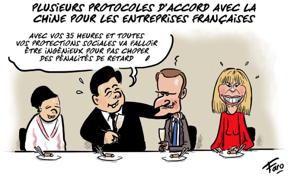 La visite de Macron en Chine selon Faro, suite