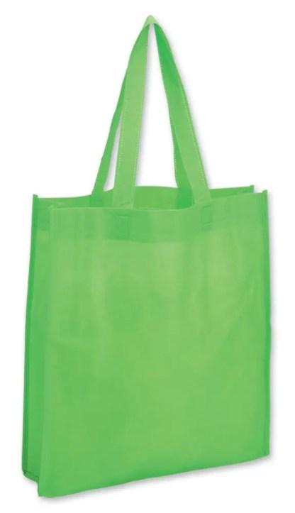 shopper color verde mela soffietto