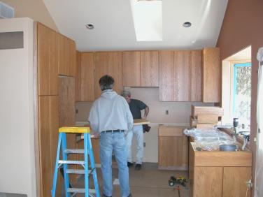 Alfandre Guest House kitchen construction