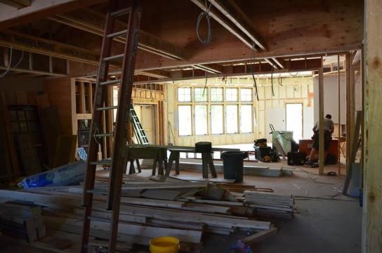Emerson Resort interior construction