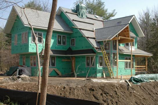 LEED Gold Residence construction