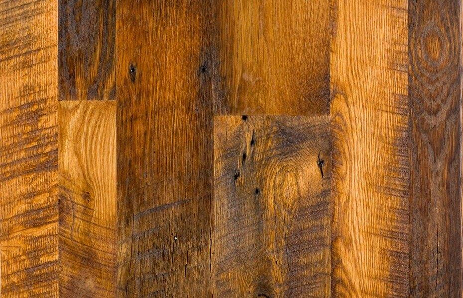 Antique Oak: Reclaimed Hardwood Flooring