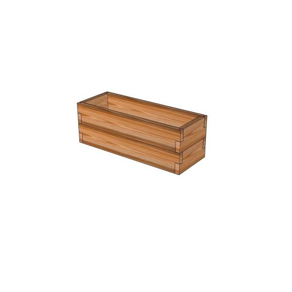 Кашпо из лиственницы / 30x80см