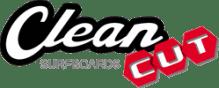 Logo Clean Cut Surfboard