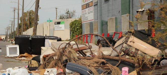 Responsible waste disposal helps keep the whole bay area clean.