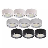 120-Volt LED Puck Lights (3 pk) | Eco Energy Management