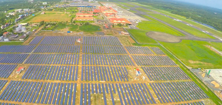 CIAL  Worlds first Solar powered Airport  EcoFriendly
