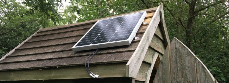 Choosing the right size solar panel and battery