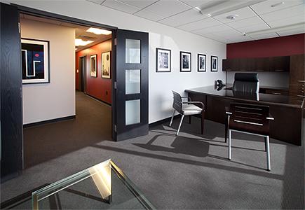 Low VOC Office Remodel