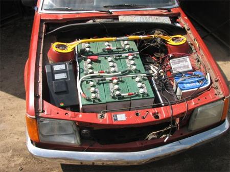 e-car-converting