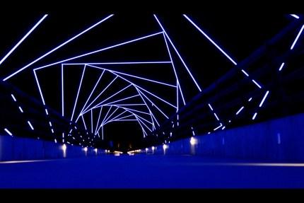 High Trestle Trail Bridge @ Night