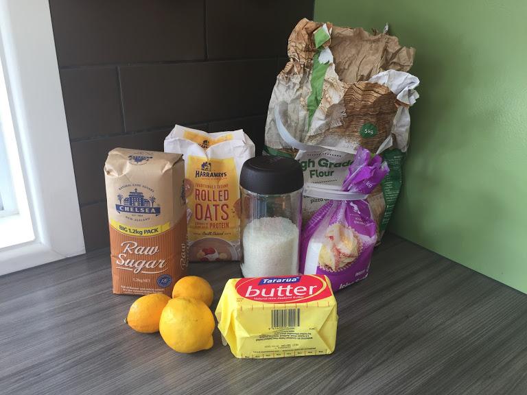 Zero waste packaging for baking ingredients