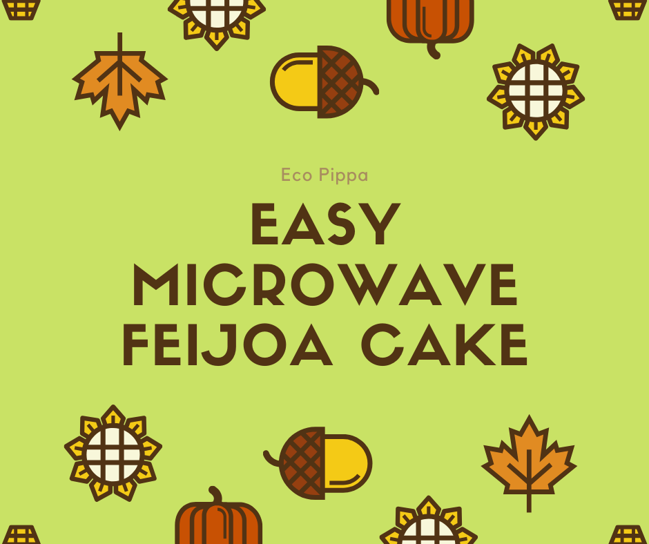 Easy microwave Feijoa Cake
