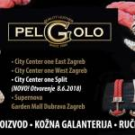 PelGolo - od sportske elegancije do svečanih odijela, proizvodnja kožne galanterije - izrada kvalitetnih kožnih remena, novčanika, modernih dizajnerskih trendy narukvica, etuija - kožna galanterija, modni dodaci za sve prigode, po narudžbi, prilagodba i popravci remena, kvalitetni dizajnerski pokloni s prigodnom ambalažom - kožni remeni, novčanici, narukvice, etui za poklon u Zagrebu - City Centar, Garden Mall, Supernova, Splitu i drugim gradovima