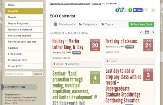 New ECO calendar