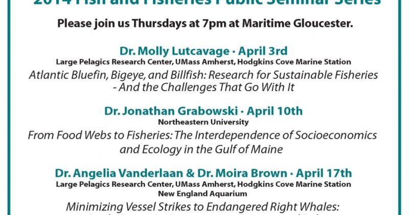 The Large Pelagics Research Center's Seminar Series Announced