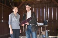 Outstanding BCT Senior Awardee, Irina Makucha