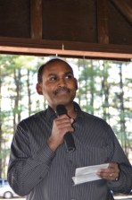 Dr. Timothy Randhir presenting Water Resources & Environmental Conservation
