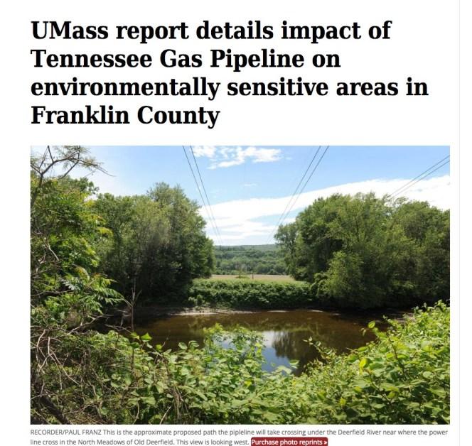 UMass pipeline report