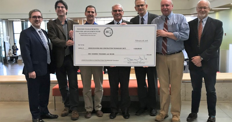 Associated General Contractors of Massachusetts Creates Endowment for BCT Program at UMass