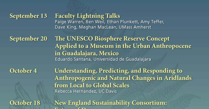 ECo Fall 2019 Seminar Series Announced