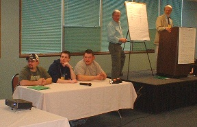 Left-to-Right: David Clapham, Jeff Hutchins, and Robert Herrick