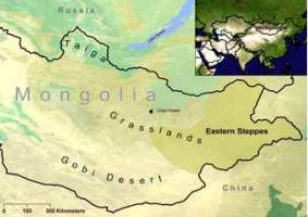 Mongolia's Eastern Steppes are one of the last intact grassland ecosystems in the world.