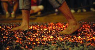 Caminhar no fogo para evoluir