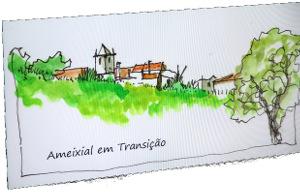 Cartaz Ameixial em transição