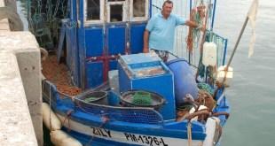 O pescador Zeca Àguas