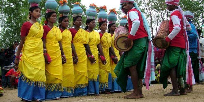 Die Tänze der Santals