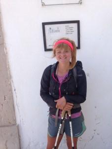 Rena Schulte in Cabo São Vicente