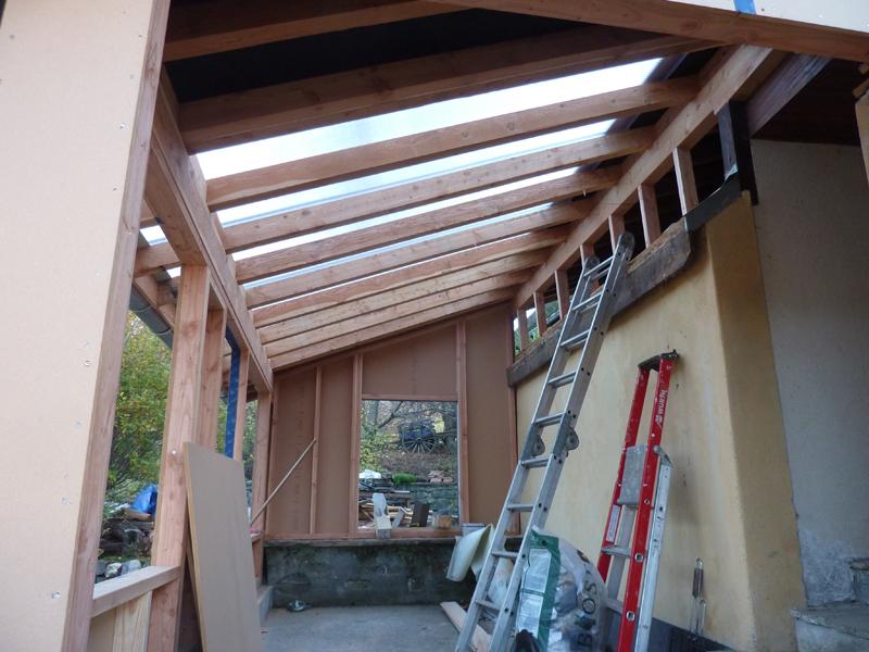 toiture de veranda