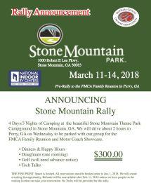 Entegra Coach Owners Association - Stone Mountain Park Rally
