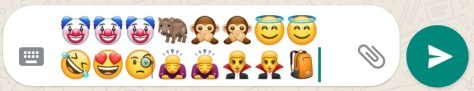 Chatten mit Emoticons auf Whatsapp