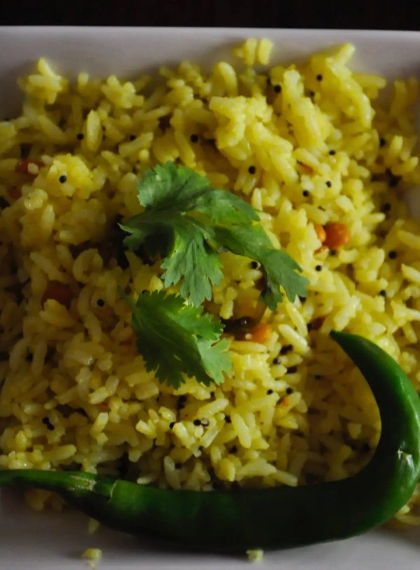 vegan lemon rice