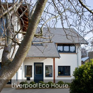 Liverpool eco house build