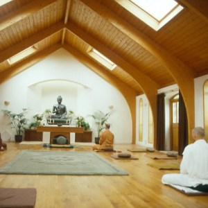 Harnham Buddhist Monastery Meditation Hall Northumberland