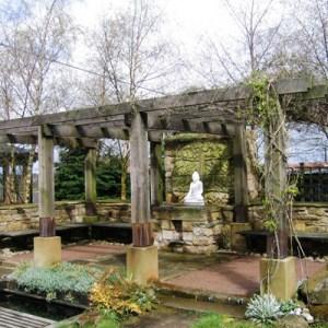 Harnham Buddhist Monastery Rememberance Garden Loggia Northumberland