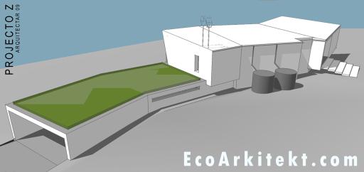 Projectos de Arquitectura - Arquitectar 09 - Projecto Z - Perspectiva 3