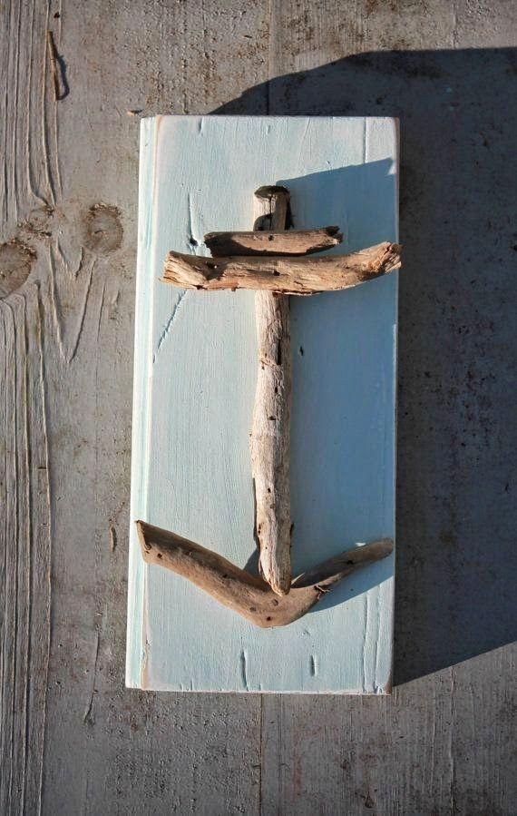 Ideas para decorar tu casa con palitos de madera de la playa