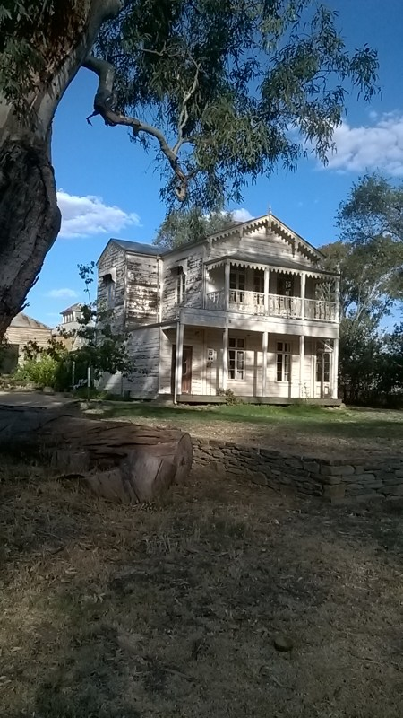 Watford House, site of The Avoca Project, Photo: Anne Douglas